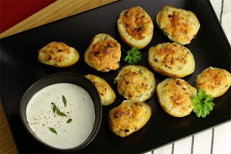 Faszerowane ziemniaki z bryndzą