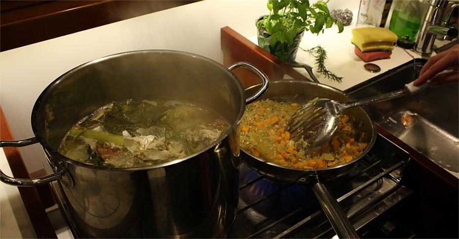 Zupa rybna, work in progress